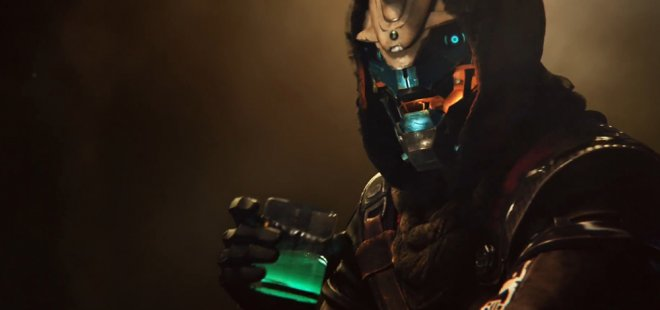 Destiny 2 first teaser shows Cayde-6 drinking in the bar