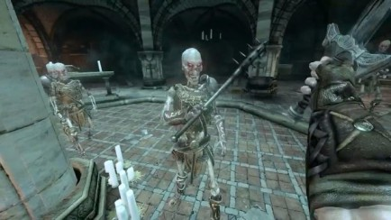AI Animations of the Skeletons with Gameplay