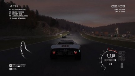 Ford GT40 MK1 vs Mont Tremblant