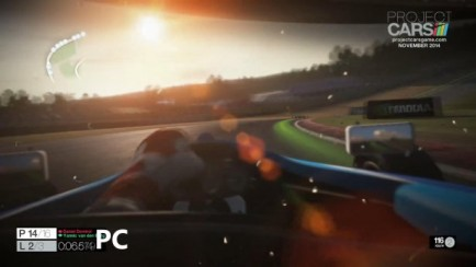 Brands Hatch, PS4 vs PC Comparison