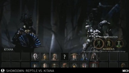 Reptile vs Kitana Gameplay