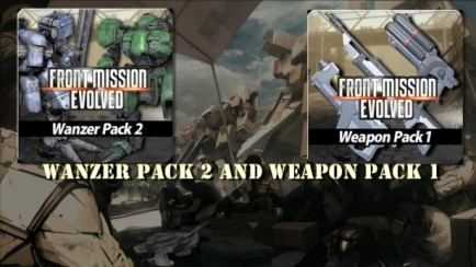 Wanzer Pack 2 and Weapon Pack 1 DLCs