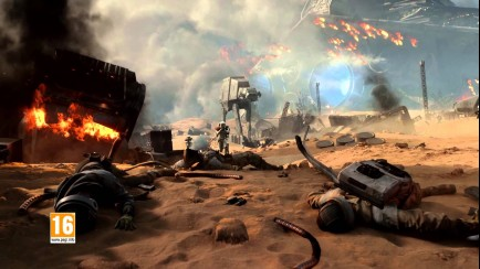 Battle of Jakku Teaser Trailer
