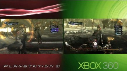 Bayonetta - PS3/X-BOX 360 Demo Comparison