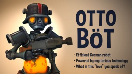Character Reveal: Otto Bot and Barkley