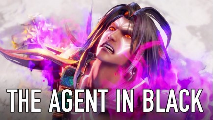 The Agent in Black (Character Announcement Trailer)