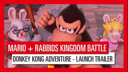 Donkey Kong Adventure Launch Trailer
