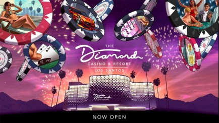 The Grand Opening of The Diamond Casino & Resort