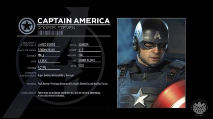 Character Profile: Captain America