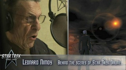 Nimoy Voiceover Session