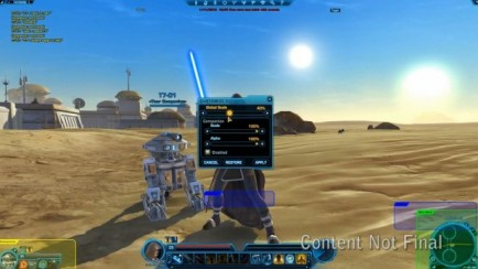 Coming Up in SWTOR