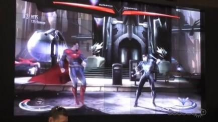 Nightwing and Cyborg Revealed Gameplay (заснято с экрана)