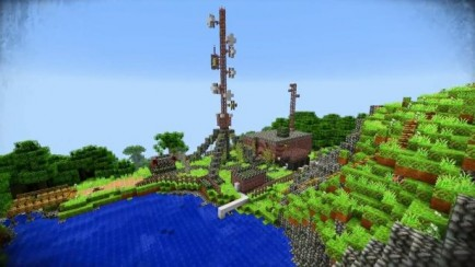 Far Cry 3 map for Minecraft