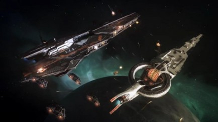 Capital Ship Battle Video